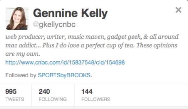 The Ten People Who Followed Darren Rovell's Daughter On Twitter Before Darren Rovell Did: A Slideshow