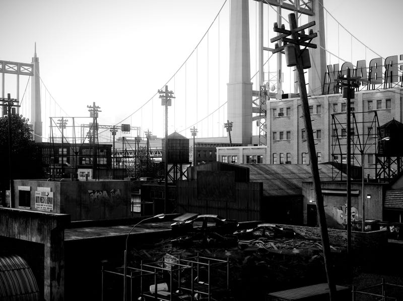 Grand Theft Auto IV Looks Marvelous in Black and White