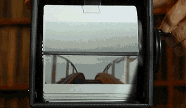 A GIF of a Vine of a Video of a Flipbook of a GIF of a Video