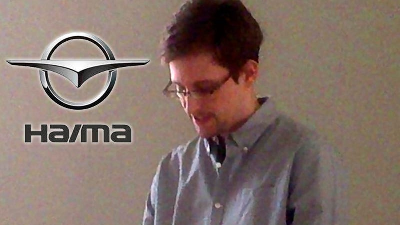 Chinese EV Company Names New Car After Edward Snowden