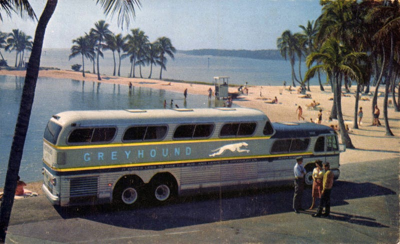 The Greyhound Scenicruiser Was Filled With The American Dream