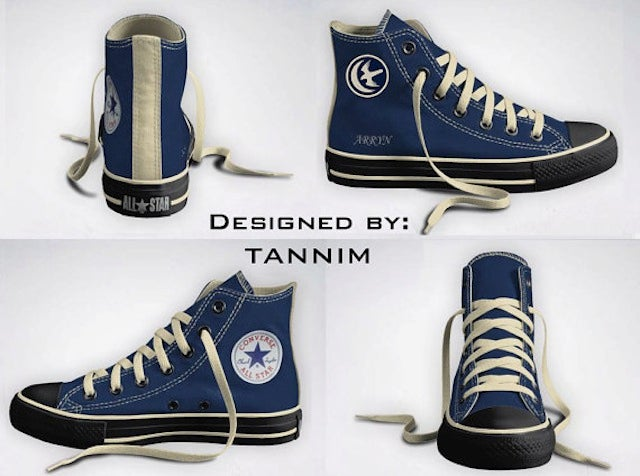 Yeah, I Would Totally Wear These Game Of Thrones Chuck Taylors