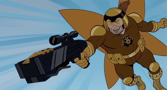 Henchman 21 destroys SPHINX while Venture Bros. skewers G.I.Joe