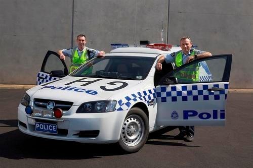Victoria Police Divisional Van