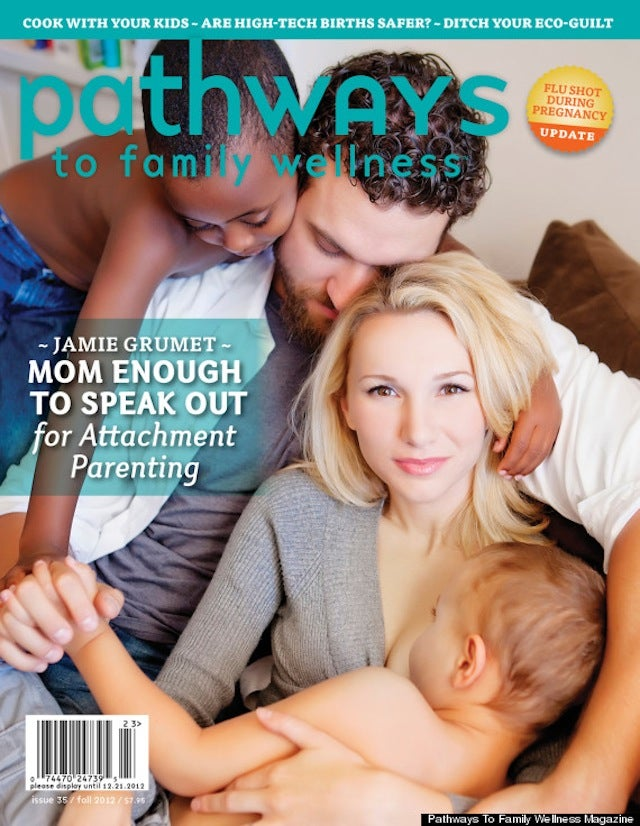 Controversial Time Cover Mom is Back Breastfeeding on Yet Another Magazine Cover