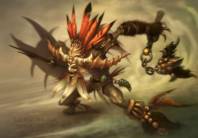 Diablo III's Witch Doctor Conjures Up Memories, Concerns