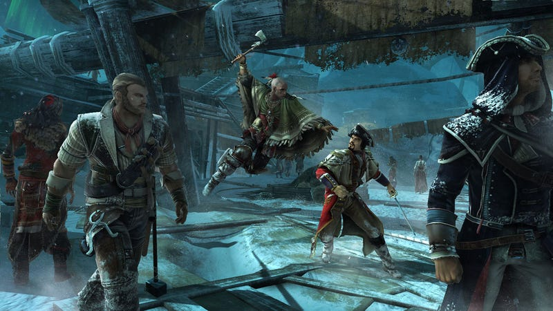 Assassin's Creed III Lets You Smash Tophat-Wearing Gentlemen With Giant Hammers