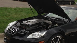 What's that? You want an SLK Mercedes? With a V12? Done.