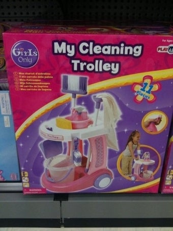 """Girls Only"": My Cleaning Trolley"