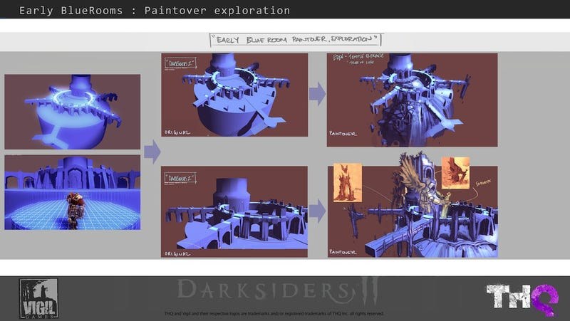 Building The Art Of Darksiders II