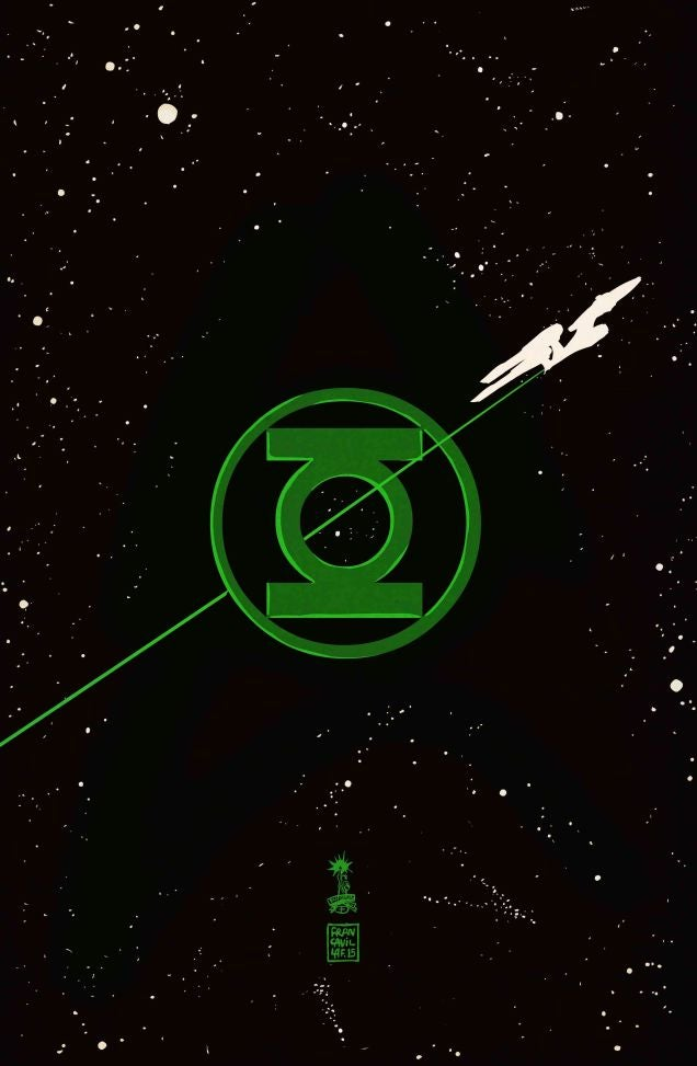 Oh, sí: Linterna Verde y Star Trek se verán las caras en un crossover