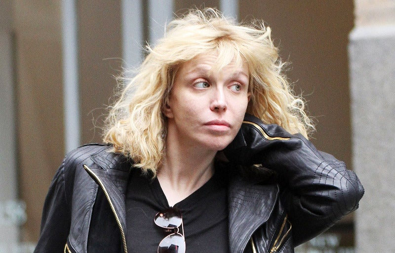 Courtney Love Tantrum Tale Was Lifted from Facebook