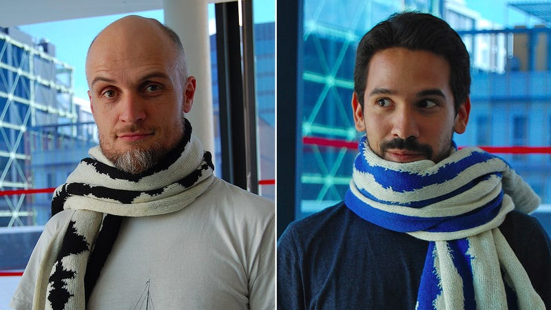 This Brainwave Scarf Uses Your Thoughts To Keep You Warm