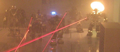 Blaser Battle Fukuoka Pits Robots With Lasers Against Robots With Lasers