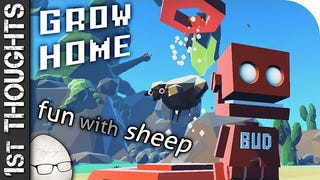 Grow Home - Dynamic Climbing and Sheep Fondling