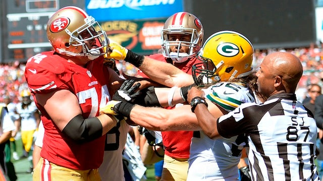 The Packers-49ers Game Featured A Replacement Ref-Level Blown Call