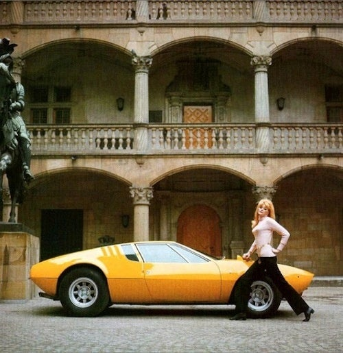 The De Tomaso Mangusta is The Bee's Knees