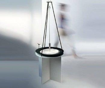 Sandpendel, a Desktop Foucault Pendulum Toy For Stressed Physicists