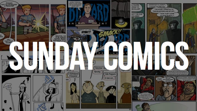 Sunday Comics: A Wall Too Tall