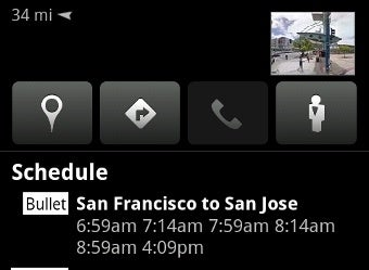 Google Maps for Android Adds Public Transit Schedules, Aggregated Reviews