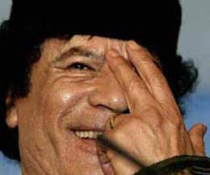 Muammar Qaddafi More or Less Owns Your Links