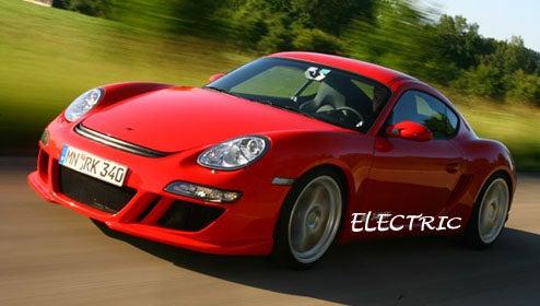 RUF Building All-Electric Porsche Cayman
