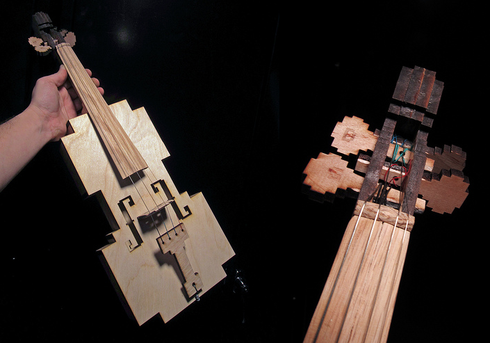 Hear That? It's the World's Prettiest 8 Bit Violin Playing You a Sad Song