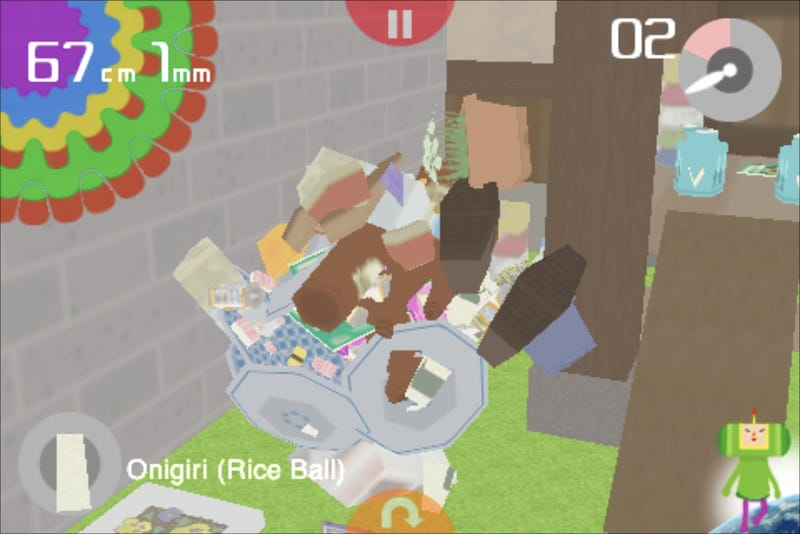 I Love Katamari for iPhone/iPod Touch Lightning Review
