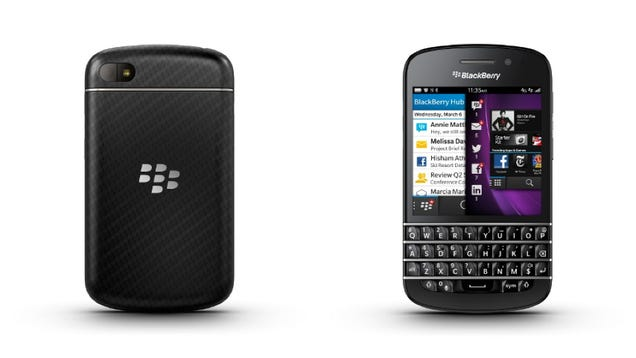 BlackBerry Q10: The Next Generation Physical QWERTY Beast Has a Touchscreen Too (Updating)