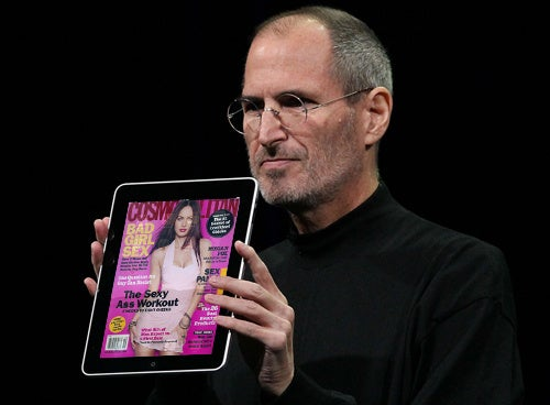 Cosmo's 10 Naughtiest iPad Sex Tips