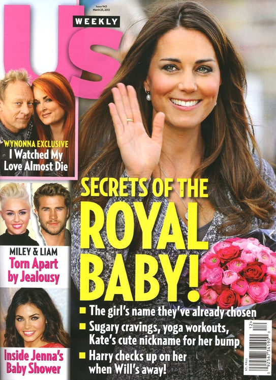 This Week in Tabloids: Will and Kate's Nickname for the Royal Fetus Revealed