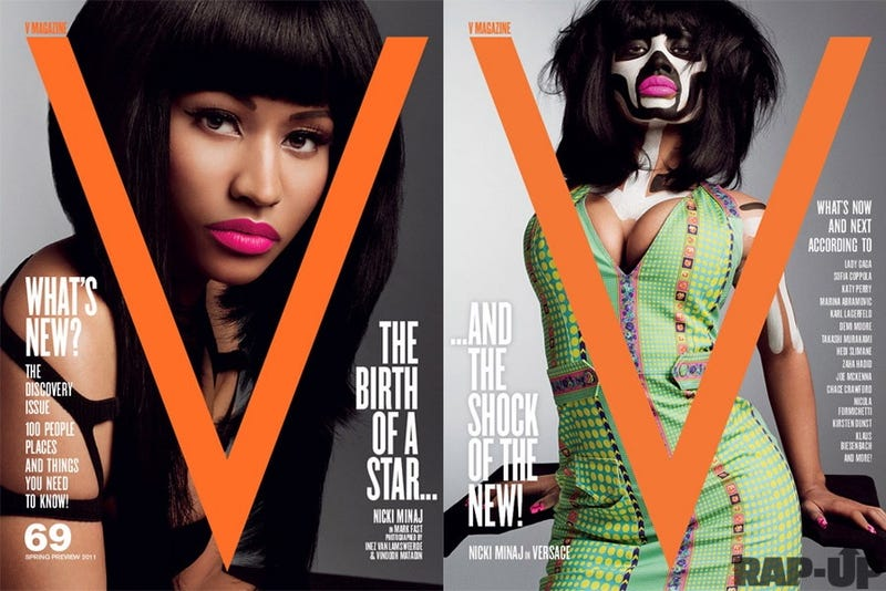 Nicki Minaj's V Cover Is Weird And We Love It