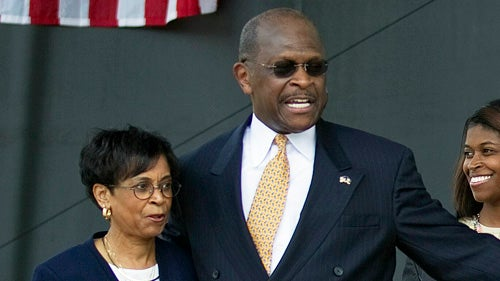 Herman Cain's Wife Does Exist After All