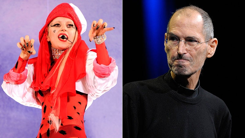 Lady Gaga Criticizes Steve Jobs To His Face