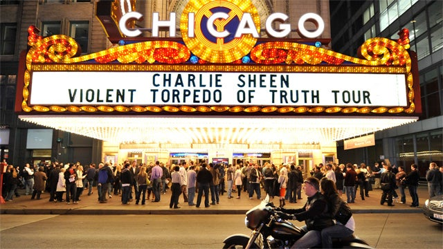 Charlie Sheen's Second Night Goes a Little Bit Better