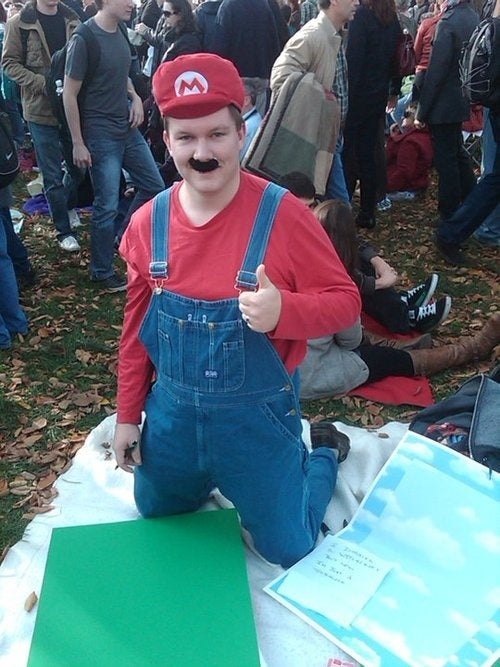 Rally To Restore Sanity Gets a Helpful Plumber?
