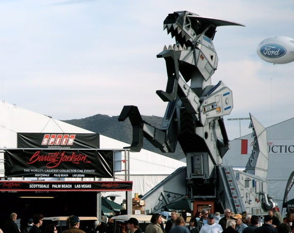 Barrett-Jackson: Robosaurus, Sells For $575,000, Promises Not To Eat Your Collector Cars
