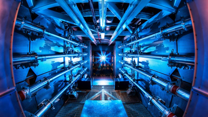 Scientists Fire the World's Most Powerful Laser