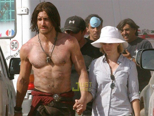 First Pics Of Gyllenhaal As Prince of Persia
