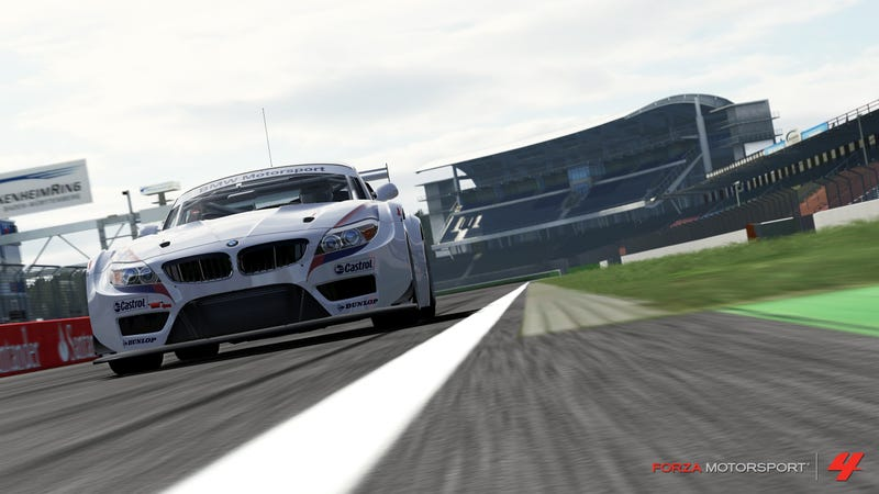Forza Motorsport 4 Shows Off Classic German Track