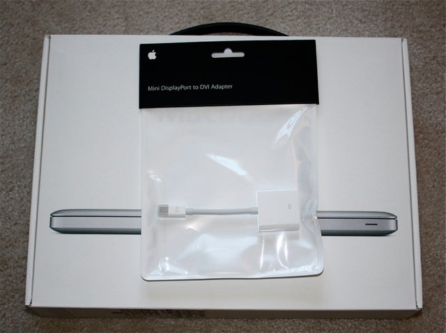 Apple Ships Mini DisplayPort Adapter In Huge MacBook-Sized Box