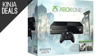 Xbox One Assassin's Creed Bundle + $50 Gift Card + Destiny for $350
