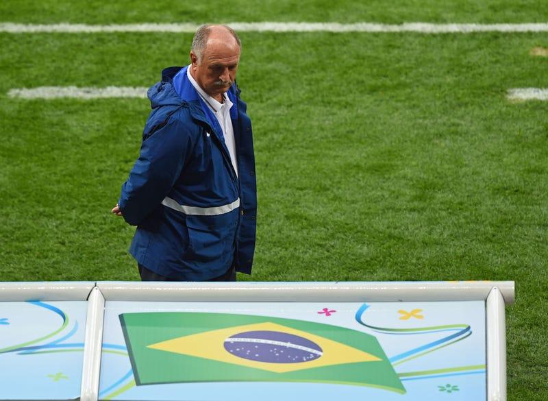 Luiz Felipe Scolari Falls On His Sword