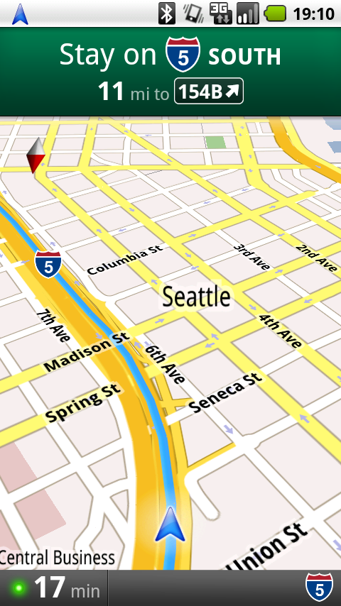Google Maps Navigation: A Free, Ass-Kicking, Turn-by-Turn Mobile App