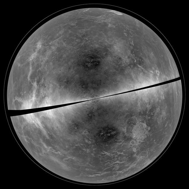 This Is How Venus Would Look Without Its Thick Layer of Clouds