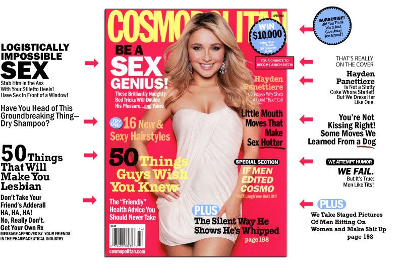 Cosmo Reminds You To Bring The Bucket Of Ice Next Time You Have Sex
