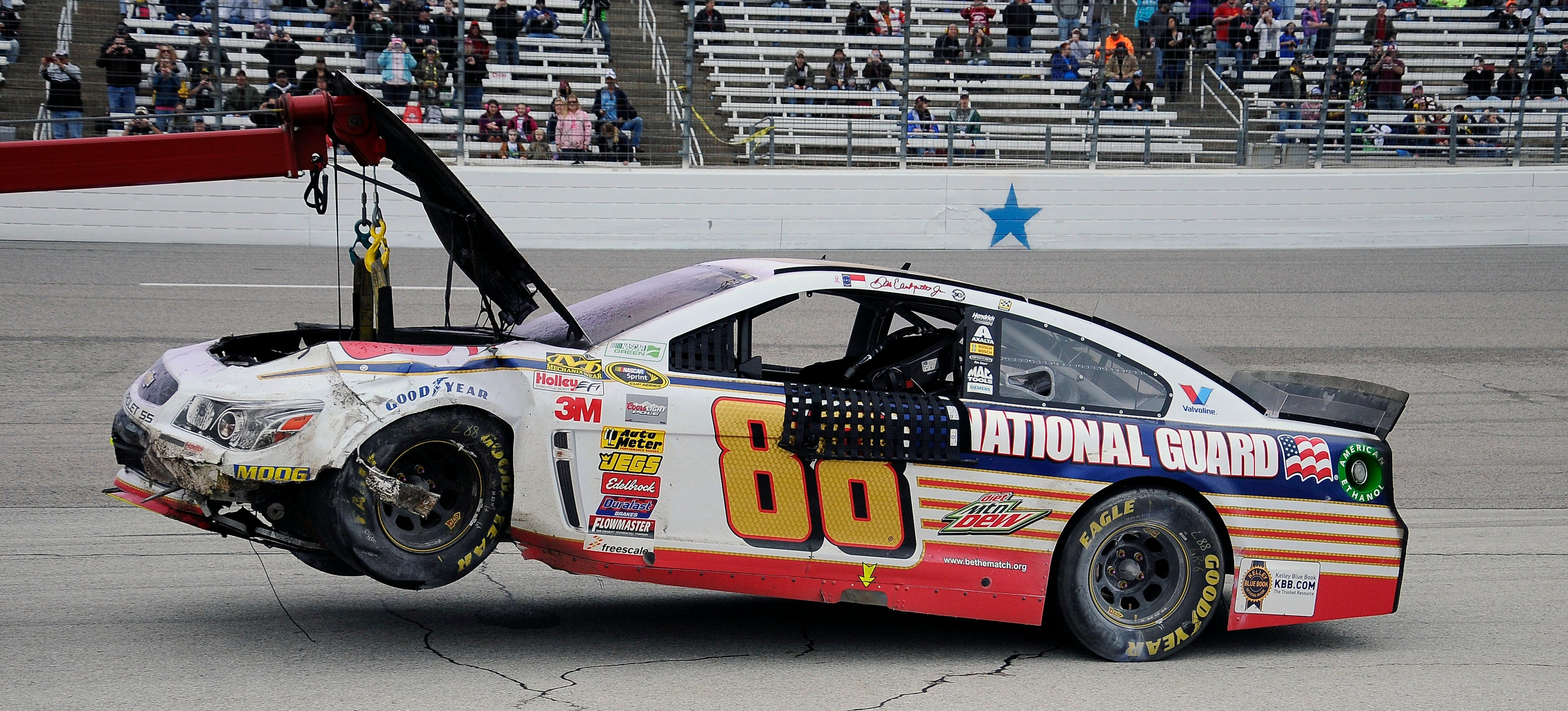US National Guard Spent $88 Million On NASCAR And Got Basically Nothing