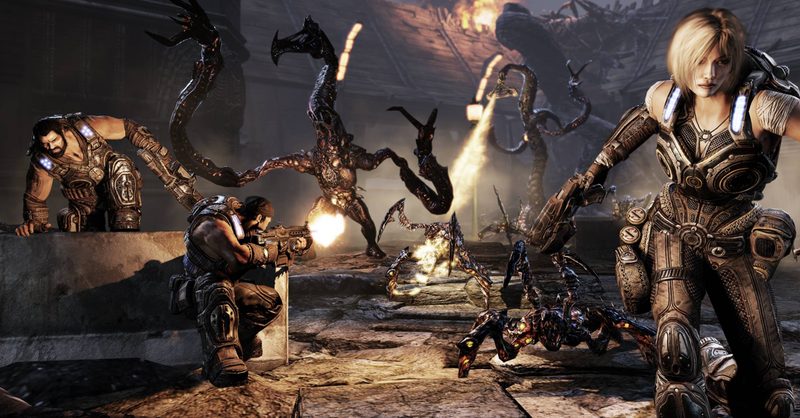 It's Too Bad Epic Games Considers Female Protagonists Tough To Justify In Gears of War [UPDATE]