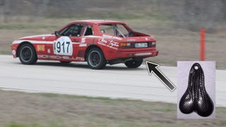 Bad Idea Funtime: Could You Corner Balance A Car With Truck Nutz?