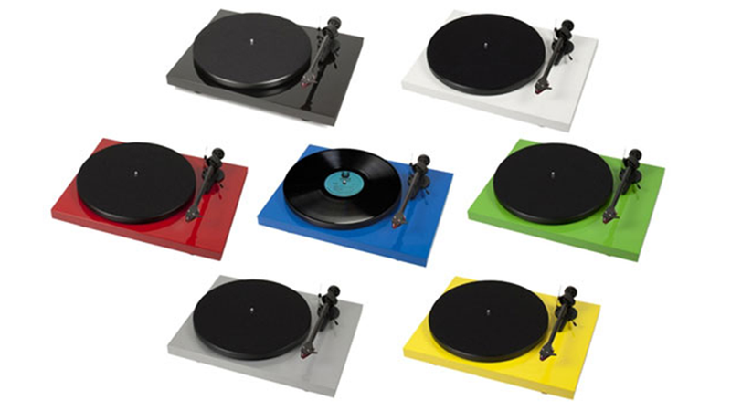 Pro-ject's Colorful Turntables Please Your Eyes and Your Ears